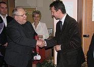 Poseł Andrzej Halicki oraz Pasmister 2008 Marek Gaszyński